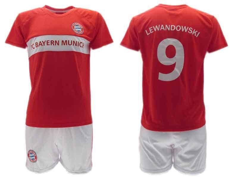 COMPLETINO TAGLIA 8 8 8 ANNI BAYERN MONACO MUNCHEN FC LEWANDOWSKI MAGLIA PANTALONE 7  edición limitada