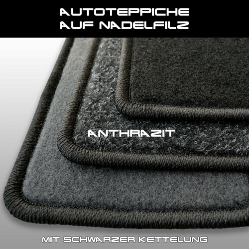 4tlg a partire dal 2017 - Antracite Auto Tappeti Ago Feltro Tappetini SKODA kodiaq