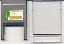 PCMCIA Adapter PC Card BUS zum CF Compact Flash Type II und Microdrive PC 16 Bit