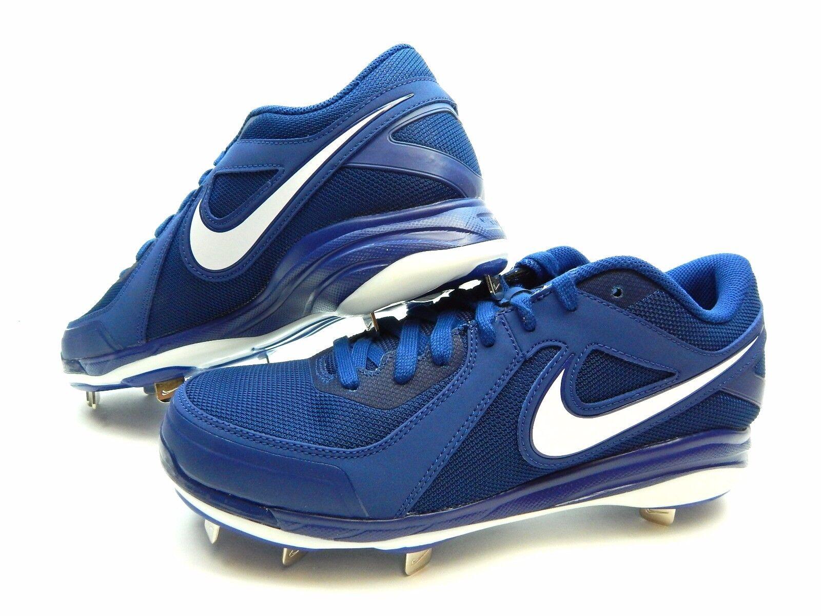 wholesale dealer ef6ac 19dd8 ... Nike Air MVP Pro Metal 524641 412 ROYAL ROYAL ROYAL WHITE MEN Baseball  SIZE 10, ...