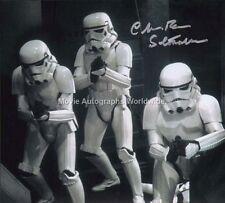 CHRISTOPHER 'CHRIS' BUNN Stormtrooper Star Wars Autograph Signed UACC & AFTAL RD