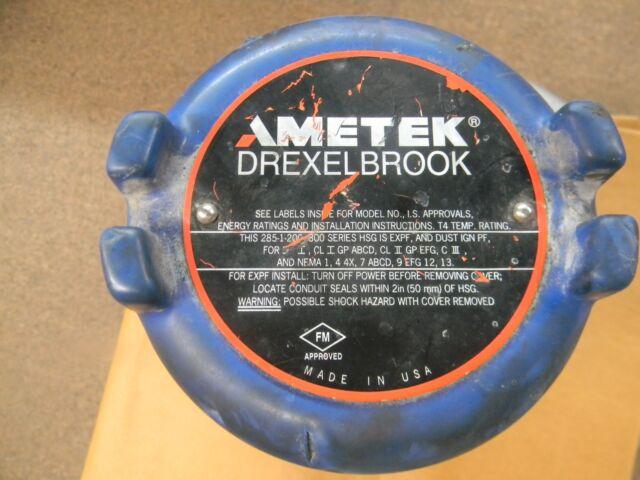 Ametek Drexelbrook 285 1 200 300 Seires Level Control