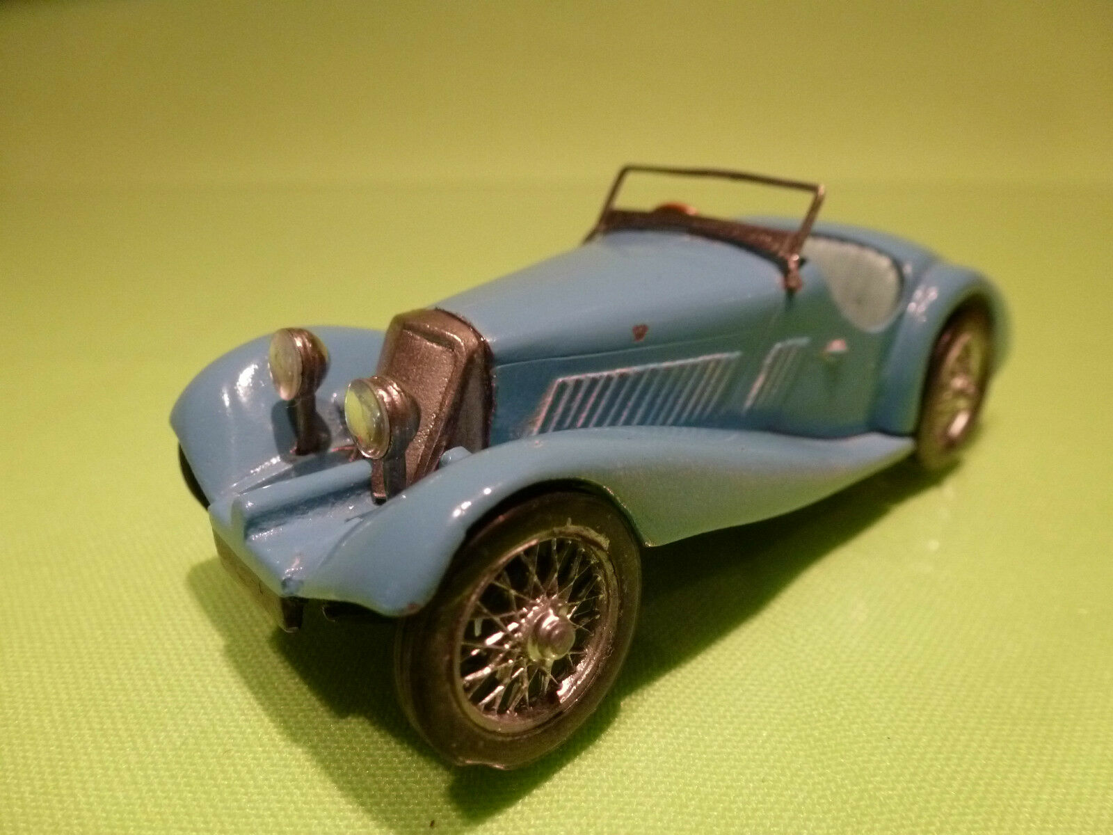 METAL BUILT KIT SQUIRE - 2 SEATER - PALE azul 1 43 - GOOD CONDITION