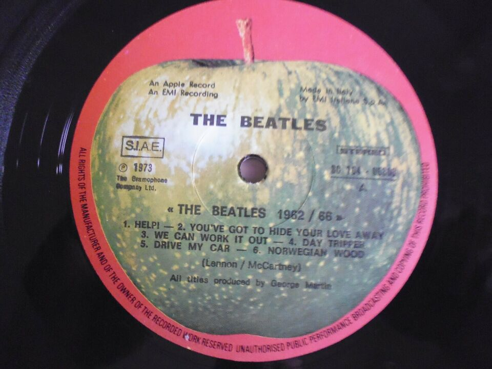 LP, The Beatles, 1962-66 The Red Album