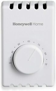 Honeywell Home Manual 4 Wire Premium Baseboard/Line Volt Thermostat CT410B1017