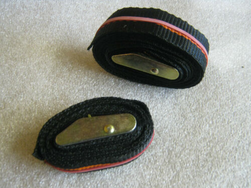 Used once ## Cam Buckle Tie Straps 10 off Min 120cm long X 25mm wide
