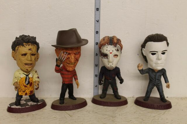 Movie Headliners XL Limited Edition 4 Figures LOOSE Jason, Freddy, Mike, Leather
