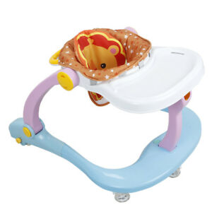 4 In 1 Multi Function Baby First Steps Walker Music PLay & Feed Station UK