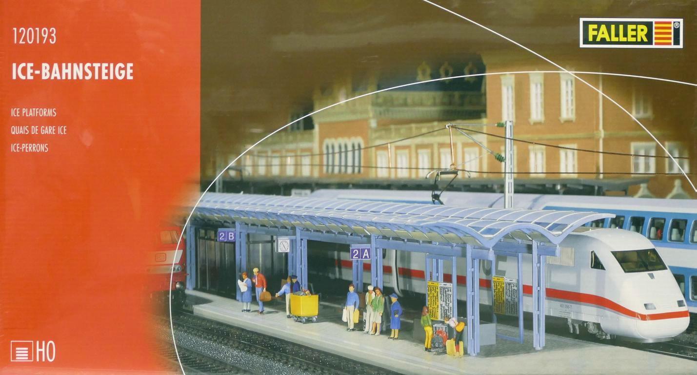 Faller 120193 H0 - - - zwei ICE Bahnsteige NEU & OvP  | Deutschland Shop  0df187