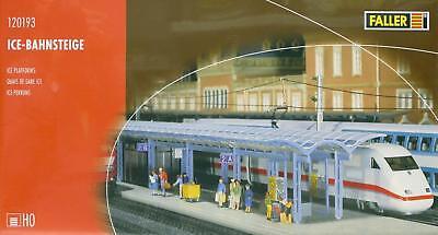 + NEU /& OVP FALLER 120193 H0 ICE-Bahnsteige