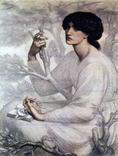 DANTE GABRIEL ROSSETTI DAYDREAM OLD MASTER ART PAINTING PRINT POSTER 661OMB