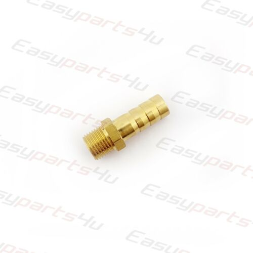 Brass BSP Male Thread x Hose Tail Connector Taper Pipe Fittings Tubing Air Water