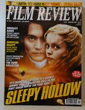 FILM REVIEW 590  JONNY DEPP CHRISTINA RICCI SLEEPY HOLLOW KEVIN SPACEY  FR 116