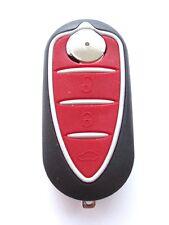 Ricambio 3 pulsanti chiave a scomparsa custodia  per Alfa Romeo Mito Brera