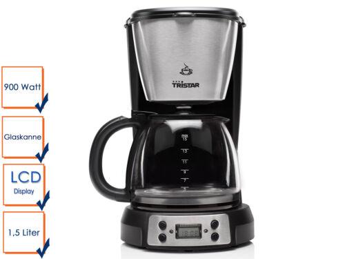FILTRO Macchina da caffè colore nero allo spegnimento automatico dopo 40 minuti Tristar