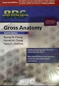 Brs Gross Anatomy By Chung Kyung W 9781451193077 Ebay