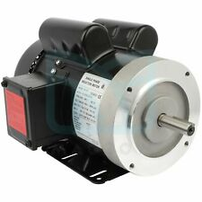3450 Rpm 3hp Single Phase Air Compressor Electric Motor 208 230 Volt