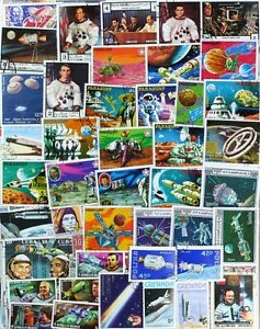 SPACE-Exploration-superb-stamp-collection-1000-different-stamps-lot-dp