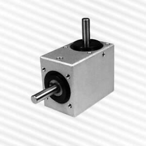 Kegelradgetrie<wbr/>be KRG-4050, 1:1, geschlossene Bauform mit verschiedenen Varianten