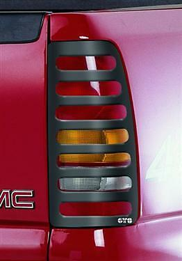 Gt Styling 460682 Tail Light Cover Slotted 94 00 Chevy S10 Gmc Sonoma Pickup Ebay