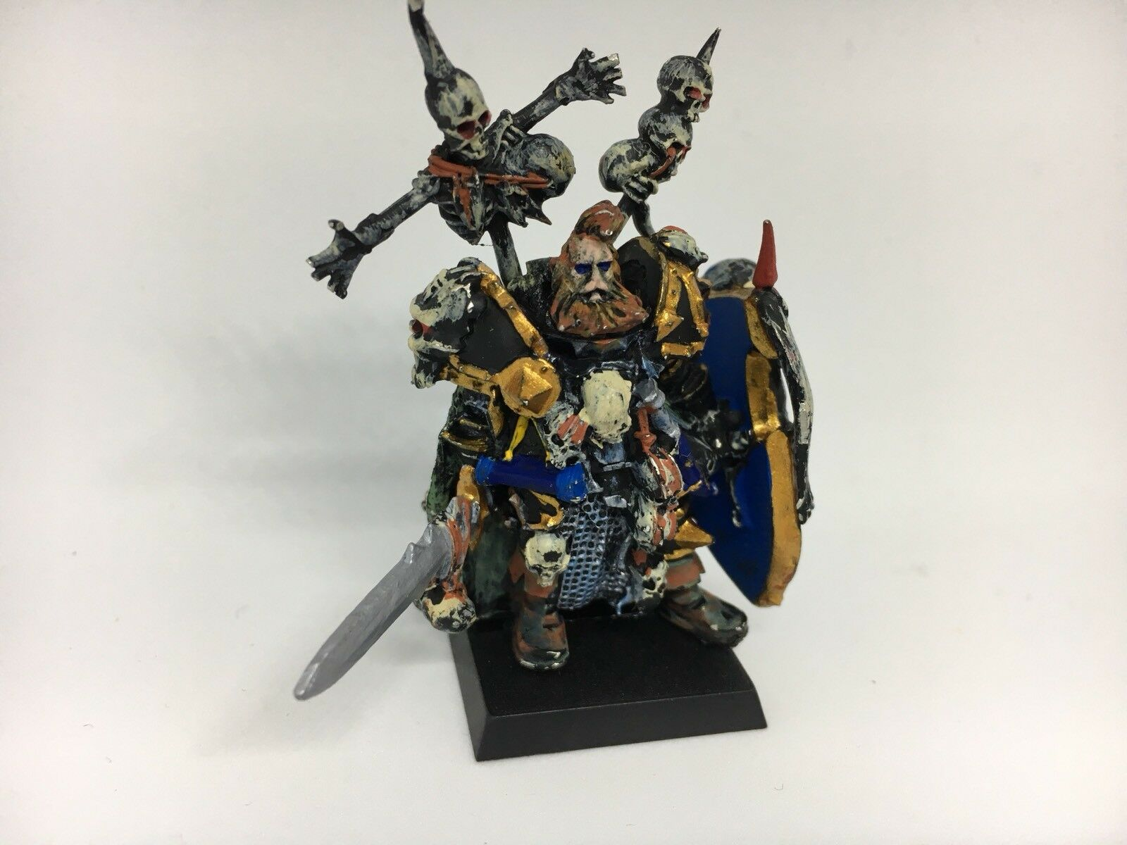 Warhammer Fantasy AoS Chaos Exalted Hero Of Chaos Painted Assembled