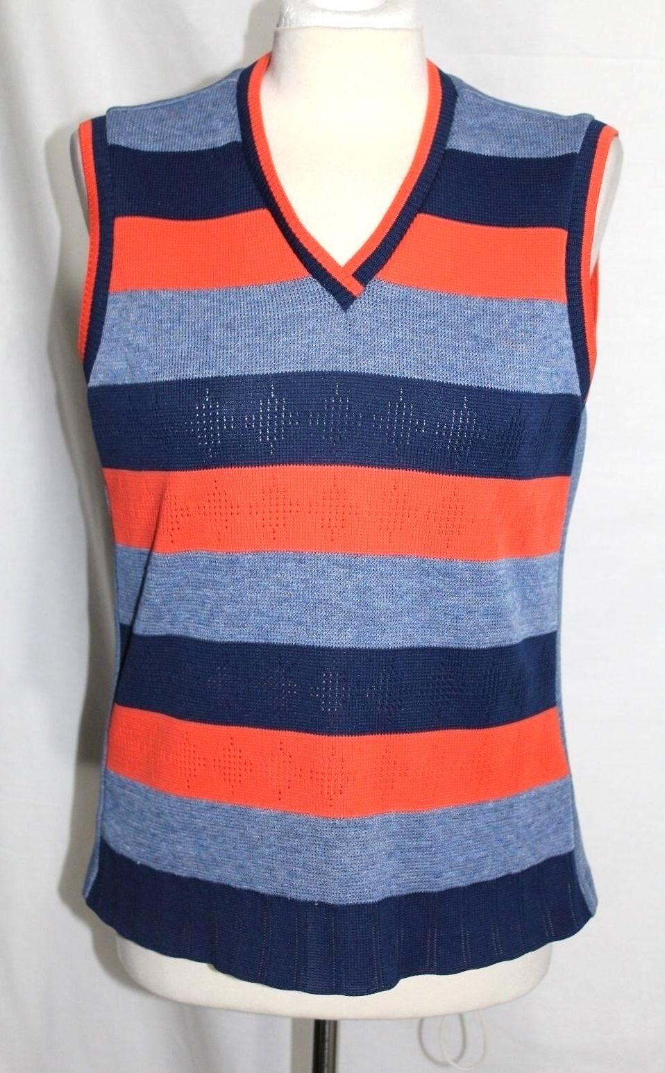 Vero Vintage 21.3ms - M L - Blu & Striscia Arancione Atletico