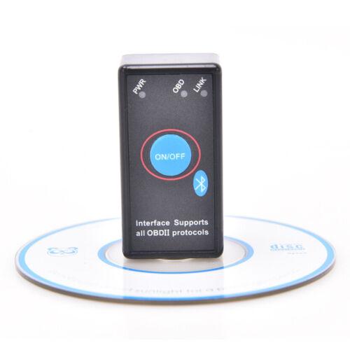 ELM327 V1.5Car Auto Code Reader Bluetooth Switch OBDII Diagnostic Tool ScannerGN