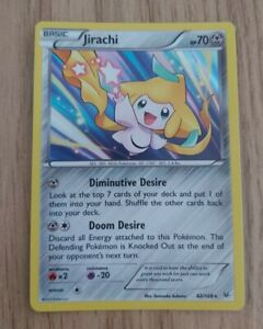 Jirachi-42-108-Rare-Holo-Near-Mint-Condition-Roaring-Skies