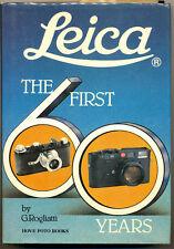 """G.Rogliatti libro """"Leica The first 60 years"""" 1993 Hove Collectors Books D515 TRI"""