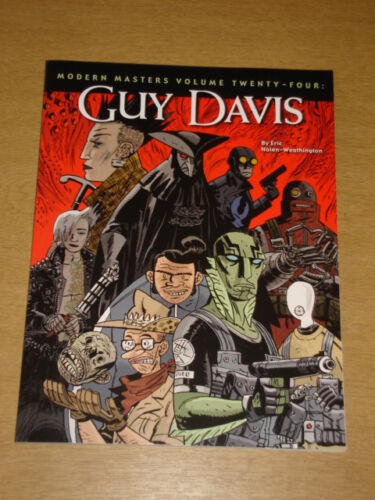 1 of 1 - MODERN MASTERS VOL 24 GUY DAVIS TWOMORROWS GN< 9781605490236
