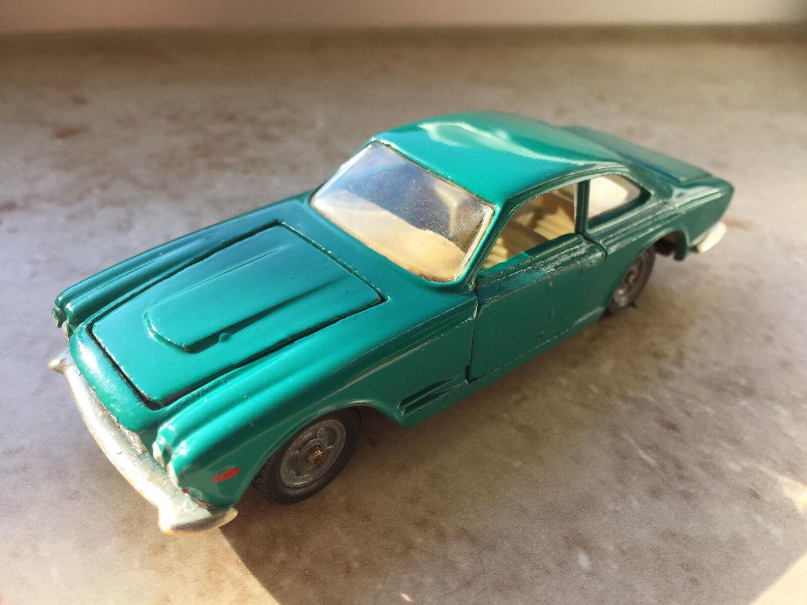 RAR  NOVOEXPORT USSR POLITOYS copie MASERATI 3500 GT  Bleu sarcelle  1 43 très bien