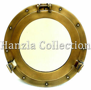 Nautical Ship Wall Mirror Porthole Mirror Captain Mirror Seaside Classic Vint