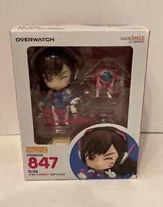 Anime Nendoroid Overwatch 847 D.VA Classic Skin Edition Action PVC Figure No Box