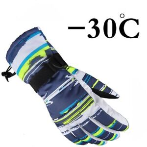 Gloves-Snowboard-Ski-Thermal-Waterproof-Snow-Motorcycle-Warm-Winter-Windproof