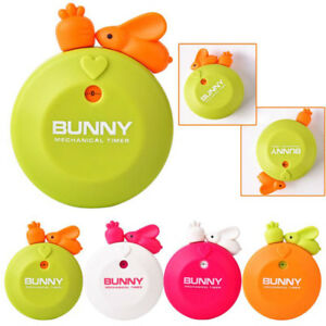 Details About Reminder Reminders Creative Rabbit Cartoon Mechanical Cute Kitchen Timer