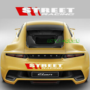 1-Red-White-Street-Racing-Sport-Hoonigan-Car-Motorcycle-Vinyl-Decal-Sticker