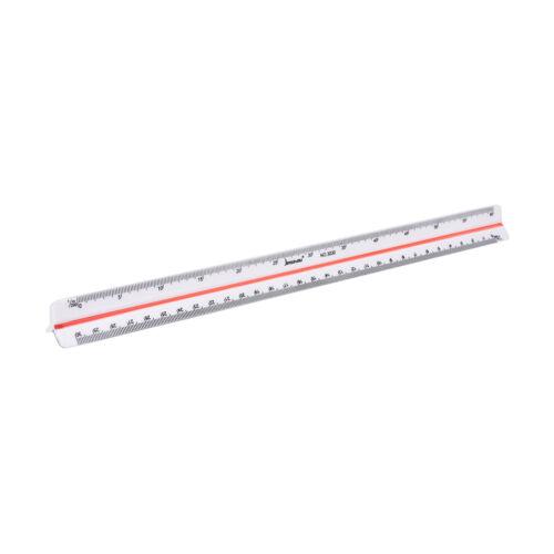 300mm Best Triangular Metric Scale Ruler For Engineer12.6/'/' Multicolor Nice UK