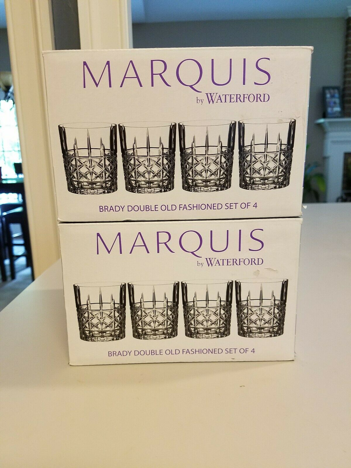 Marquis by Waterford-Brady Double Old Fashioned verres-Set de 8 - 40018563