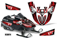 SIKSPAK Arctic Cat Sno Pro 120 Sled Wrap Snowmobile Graphics Kit All REBIRTH RED