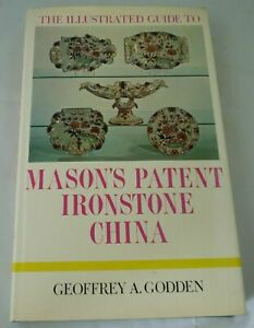 Mason-039-s-Patent-Ironstone-China-Geoffrey-Godden-Barrie-amp-Jenkins-1971