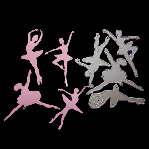 Ballerina Metal Cutting Dies Stencil For DIY Scrapbooking Album Cards De AS
