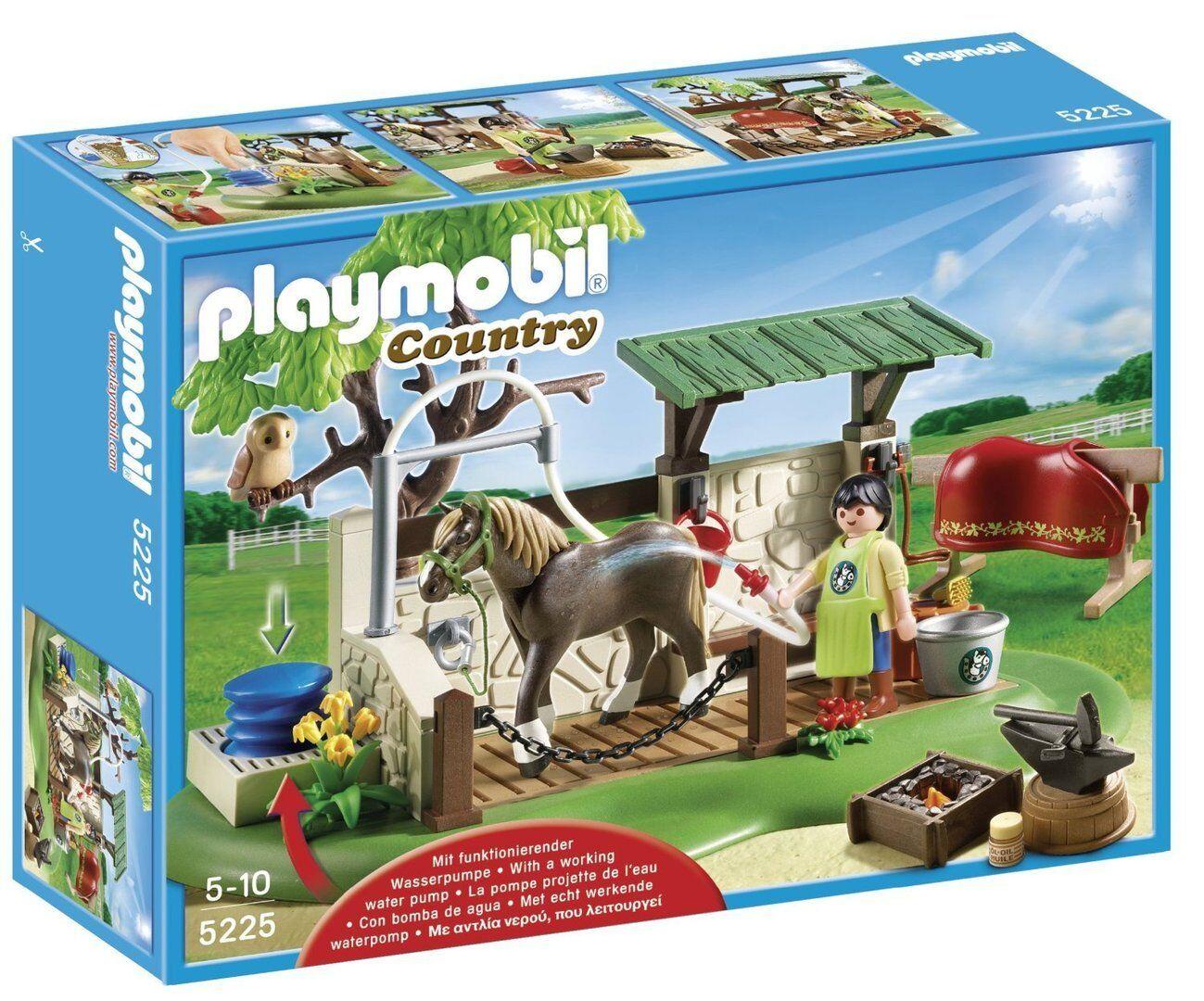 Playmobil 5225 - Ducha para Caballos - NUEVO