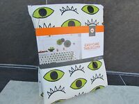 Halloween Peva Monsters Tablecover - Spritz Monster Eyes & Teeth Padded Cloth