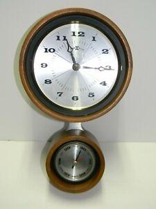 Wall Clock Vintage London Retro Modern Square Iconic Black  Restoration Hardware