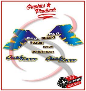 Suzuki LT250R Quadracer Decals Replica Full Set Graphics Sticker 85-92 Model