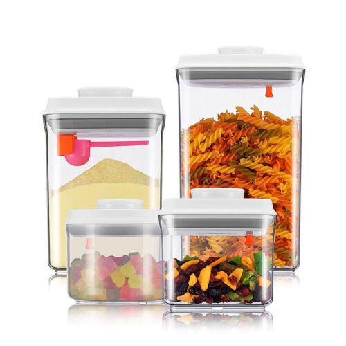 Leakproof Milk Powder Container BPA-Free Plastic Sealed Food Storage Dispensers