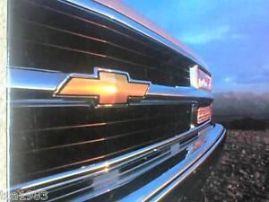 1998 CHEVY TRUCKS Brochure//Catalog:C//K,TAHOE,S10,BLAZER