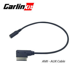 1.8M Music Interface AMI MMI to 3.5mm Audio AUX Cable Adapter for Audi Q5 S7 US