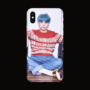 Kpop-Bangtan-Boys-SUGA-Soft-TPU-Phone-Case-Cover-For-iPhone-X-6-6s-7-8-Plus