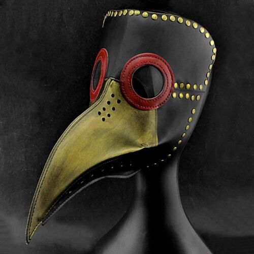 Vintage Steampunk Plague Doctor Bird Mask Cosplay Custome Mask Gothic Rock